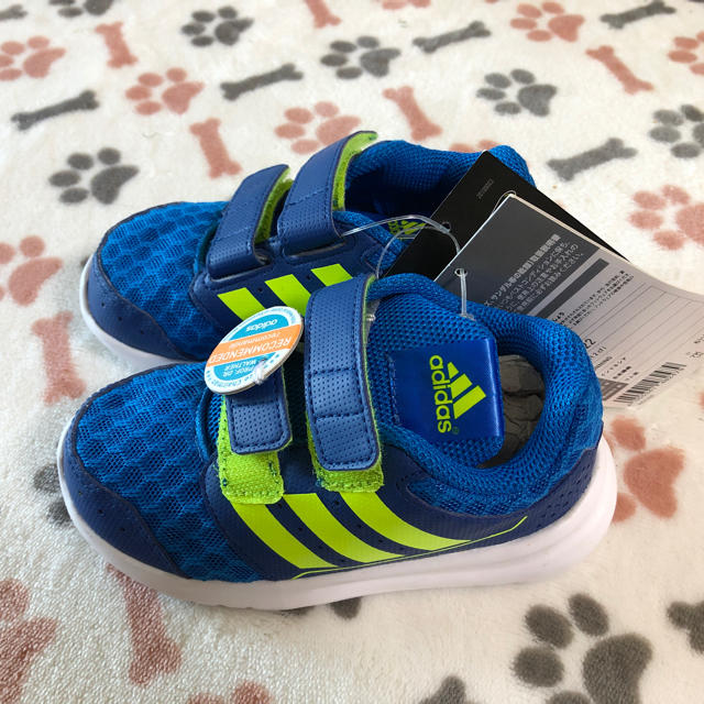adidas(アディダス)のadidas靴 キッズ/ベビー/マタニティのベビー靴/シューズ(~14cm)(その他)の商品写真