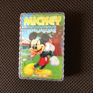 ディズニー(Disney)のミッキーマウス トランプ 新品未開封(トランプ/UNO)