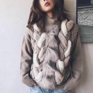 アメリヴィンテージ(Ameri VINTAGE)のameri far knit(ニット/セーター)