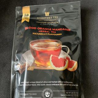 コストコ(コストコ)のヴィソツキーティー ハーブティ ブラッドオレンジ(茶)
