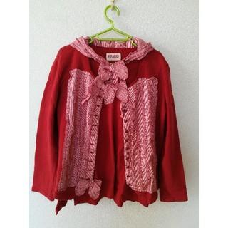 ピンクハウス(PINK HOUSE)のピンクハウスカーディガン&長袖フードシャツ (カーディガン)