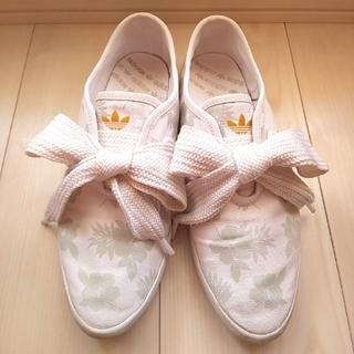 アディダス(adidas)のアディダス リレースロー ホワイト スニーカー(スニーカー)