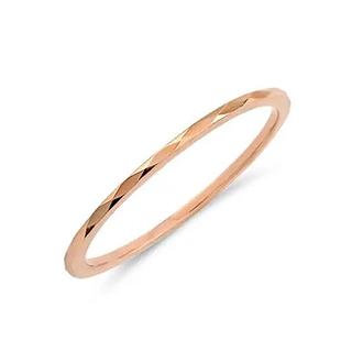 ブルーム(BLOOM)の【BLOOM】ピンクゴールド カットリング ピンキーリング(リング(指輪))
