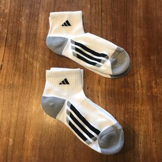 アディダス(adidas)の未使用アディダス adidas 厚手靴下ソックス2足組(ソックス)
