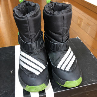 アディダス(adidas)のadidasスノーブーツ 17センチ(ブーツ)