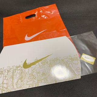 ナイキ(NIKE)のNIKE ナイキ ショップ袋 ギフトボックス プレゼント用箱 セット(ショップ袋)