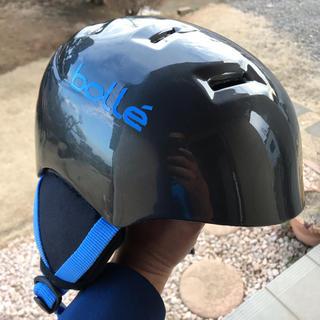 ボレー(bolle)のかんさん専用 キッズヘルメット スキー スノボー(アクセサリー)