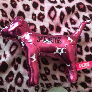 ヴィクトリアズシークレット(Victoria's Secret)のビクトリアシークレット ピンクドッグ VictoriaSecret Pink (ぬいぐるみ/人形)