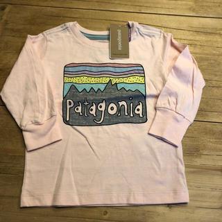 パタゴニア(patagonia)の(SALE) 6ー12M パタゴニア オーガニックTシャツ(Tシャツ/カットソー)