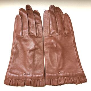クロエ(Chloe)のChloe レザー 手袋 (手袋)