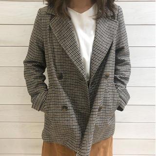 シマムラ(しまむら)の新品未使用 ガンクラブチェック ジャケット(テーラードジャケット)