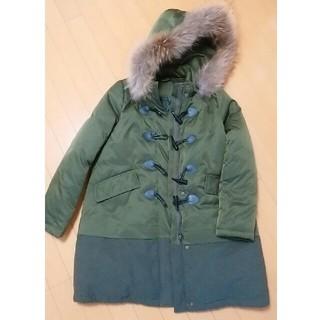 ザラ(ZARA)のモッズコート  ファー付きダウンコート 濃緑 L~XLの方にお勧め(モッズコート)