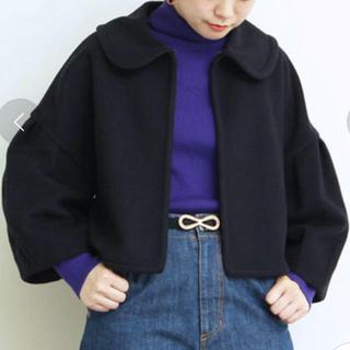 ドットアンドストライプスチャイルドウーマン(Dot&Stripes CHILDWOMAN)のDot and Stripes スーパー100丸衿ショートコート(その他)