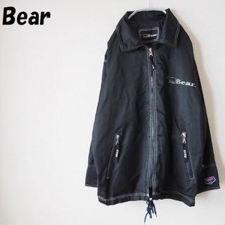 ベアー(Bear USA)の【人気】ベアー リバーシブルナイロンジャケット ブラック サイズM オールド(ナイロンジャケット)