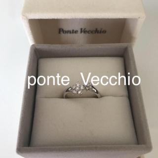 ポンテヴェキオ(PonteVecchio)の専用です K18WG PV ダイヤモンドリング(リング(指輪))