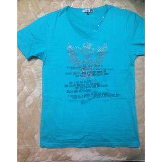 エムケーミッシェルクランオム(MK MICHEL KLEIN homme)の美品 MK プリントTシャツ(Tシャツ/カットソー(半袖/袖なし))