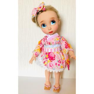 ディズニー(Disney)のアニメータードール 服 チュール 浴衣(人形)