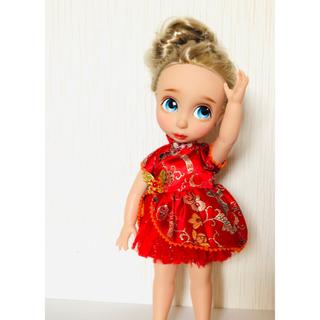 ディズニー(Disney)のアニメータードール 服 チャイナ風ワンピ(人形)