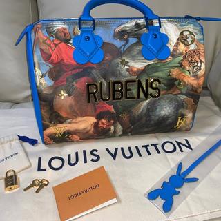 ルイヴィトン(LOUIS VUITTON)のルイヴィトン マスターズ キーポル スピーディ30 ジェフクーンズ ルーベンス(ハンドバッグ)