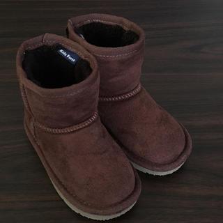 キッズフォーレ(KIDS FORET)の美品 kids foret ムートン ブーツ 14cm(ブーツ)