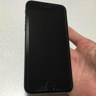 アイフォーン(iPhone)の即購入OK 美品 SIMフリー iPhone7 128GB matblack(スマートフォン本体)