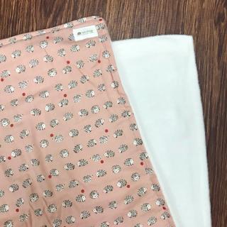 rd0043 ブランケット ハリネズミ ハンドメイド ピンク(毛布)