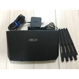 エイスース(ASUS)のASUS RT-AC87U 11a/b/g/n/ac対応 高速無線ルーター(PC周辺機器)