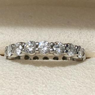 ミキモト(MIKIMOTO)のミキモト フルエタニティ ダイヤモンドリング(リング(指輪))