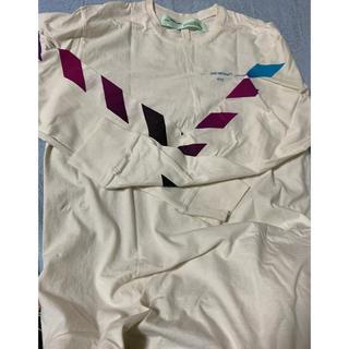 オフホワイト(OFF-WHITE)のオフホワイト off white ロンt supreme(Tシャツ/カットソー(七分/長袖))
