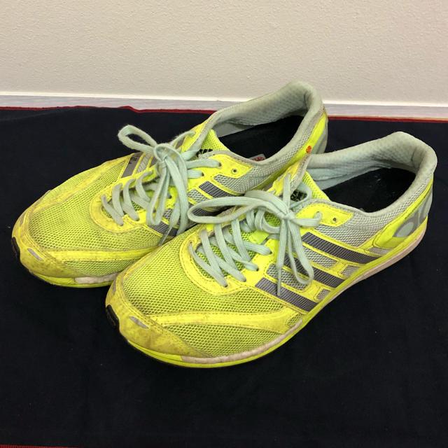 adidas(アディダス)のアディゼロ タクミ レン ブースト スポーツ/アウトドアのランニング(シューズ)の商品写真