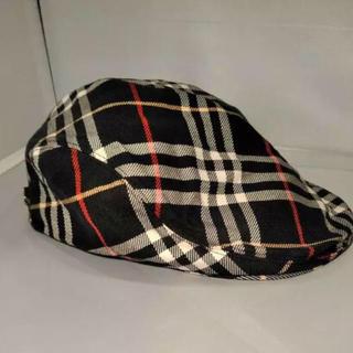 バーバリー(BURBERRY)のburberry ハンチングキャップ(ハンチング/ベレー帽)