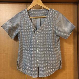 ジーユー(GU)のGU キムジョーンズ ブラウス(シャツ/ブラウス(半袖/袖なし))
