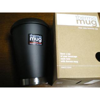 thermo mug - サーモマグ モバイルタンブラー ブラック(350)未使用です