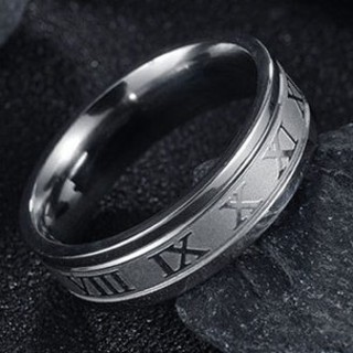⏹️★人気商品★⏹️シルバーステンレスリング(リング(指輪))