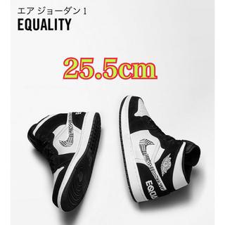 ナイキ(NIKE)のAJ1 mid se equality 25.5cm(スニーカー)