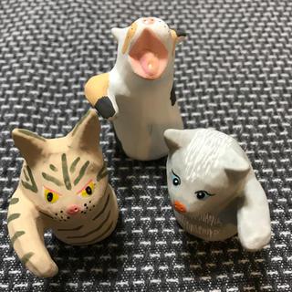 アクタス(ACTUS)のアクタス ノベルティ2019 招き猫 3点セット(置物)