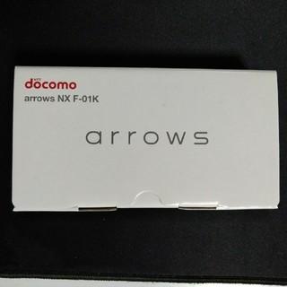 ドコモ arrows NX F-01K モスグリーン SIMフリー(スマートフォン本体)