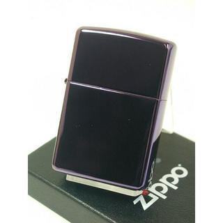 ジッポー(ZIPPO)のZippo Abyss パープル 紫 チタン 純正 PVD アビス #24747(タバコグッズ)