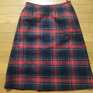 アルティザン(ARTISAN)のアルチザン  膝下 ウールスカート(ひざ丈スカート)