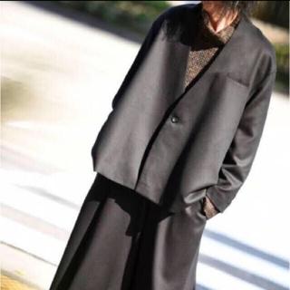ドゥルカマラ(Dulcamara)のKa na ta 10 years jacket ウールギャバ(ノーカラージャケット)