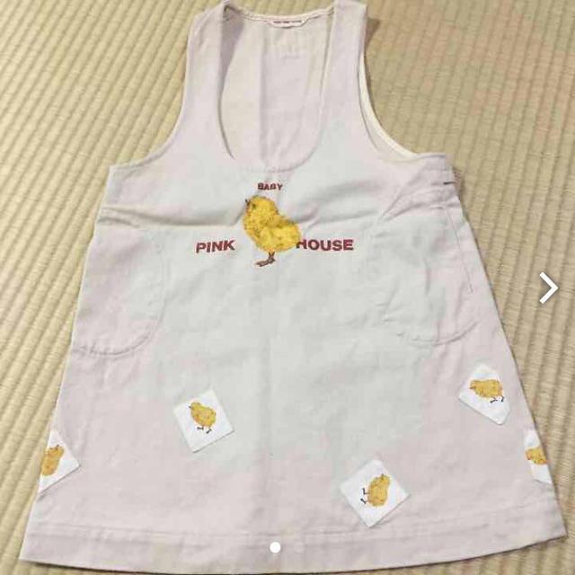 PINK HOUSE(ピンクハウス)のbabyピンクハウス ジャンバスカート レディースのスカート(ひざ丈スカート)の商品写真