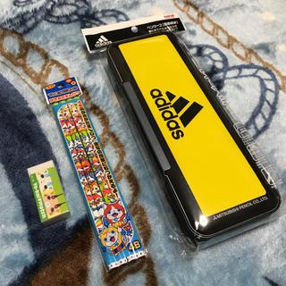 アディダス(adidas)の新品♡adidas 筆箱セット(ペンケース/筆箱)
