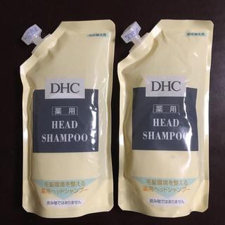 ディーエイチシー(DHC)の【新品・未開封】DHC 薬用ヘッドシャンプー 詰め替え用 2個(シャンプー)