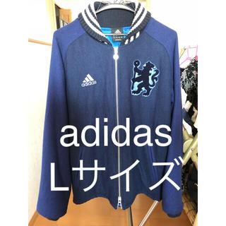 アディダス(adidas)のadidas チェルシーフットボールスタイルジャケット(スタジャン)