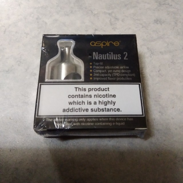aspire(アスパイア)のaspire NAUTILUS 2 (色 シルバー) メンズのファッション小物(タバコグッズ)の商品写真