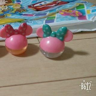 ディズニー(Disney)のミニー ラメ入りグロス(リップグロス)