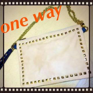 ワンウェイ(one*way)のOne Wayクラッチバッグ♪(クラッチバッグ)