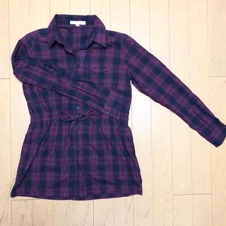 シャツ(shirts)のShirts code ワインレッドチェックシャツ(シャツ/ブラウス(長袖/七分))
