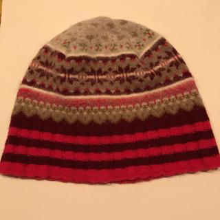 シップス(SHIPS)のERIBE(スコットランドのブランド)の ニット帽(ニット帽/ビーニー)