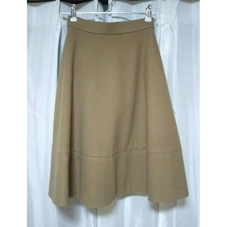 デミルクスビームス(Demi-Luxe BEAMS)の(出品2月末まで)フレアスカートXS/XXS 小さいサイズ(ひざ丈スカート)